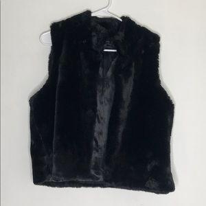 Faux fur Talbots Vest